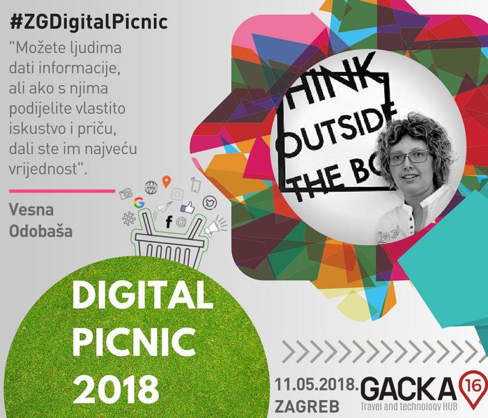 Digital Picnic Zagreb - Vesna Odobaša - panelistica