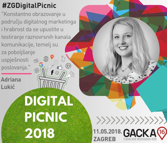 Digital Picnic Zagreb - Adriana Lukić