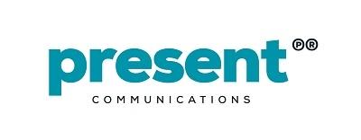 Present communications logo