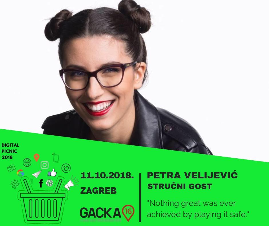Petra Velijević - predavač