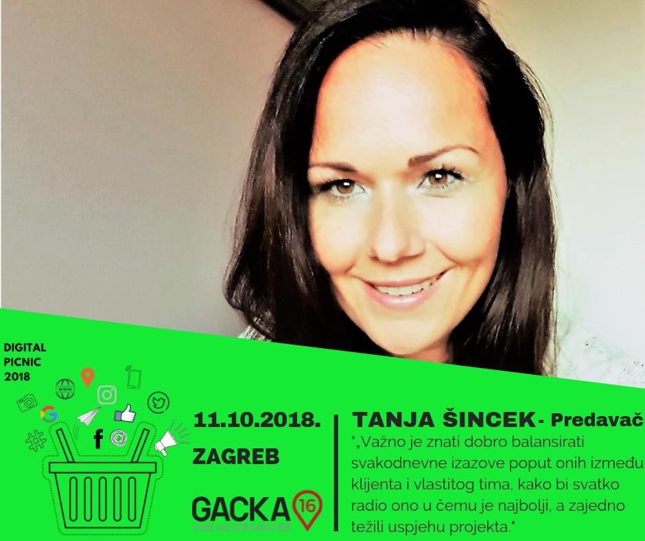 Tanja Šincek - predavač